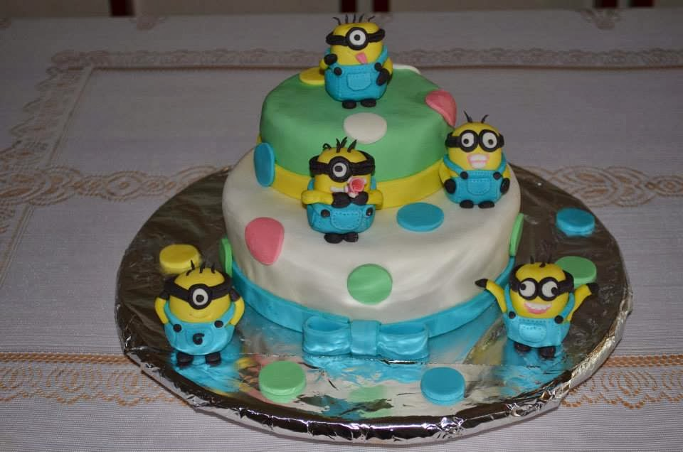 Images Of Minion Birthday Cake : Bebento - Kids: Minions Birthday Cake