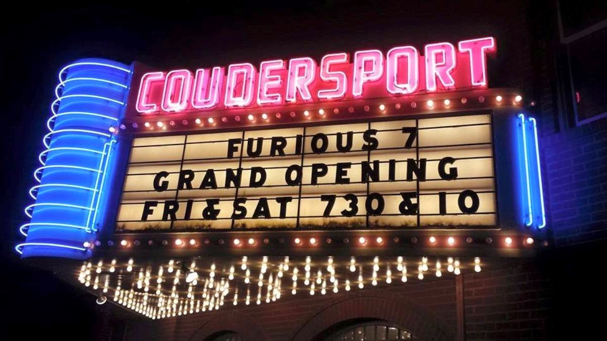 Coudersport Theatre Grand Opening