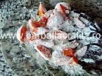 Prajitura cu fructe preparare reteta