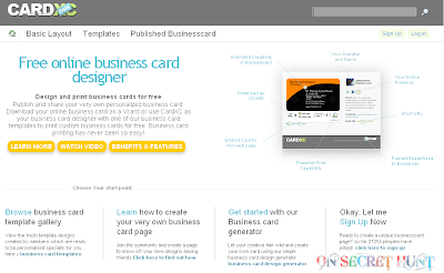 cardxc Top 9 Websites to Make Free Online Business Cards