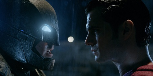 Batman V Superman Fight Scene Dawn Of Justice Poster Wallpaper Image Picture Screensaver DC Cinematic Universe
