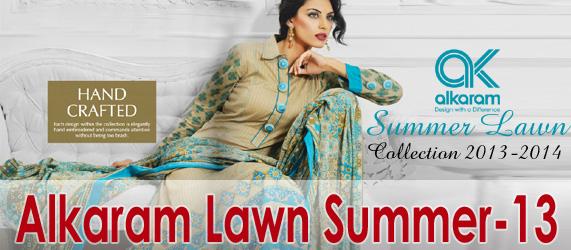Alkaram Summer lawn 2013 20 - Al Karam Spring / Summer Lawn Collection 2013