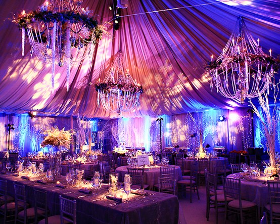 Winter Wonderland Decorations For Weddings