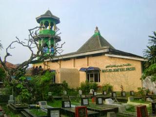 Aneh masbro, Ada Masjid Bermenara Pagoda di Tangerang