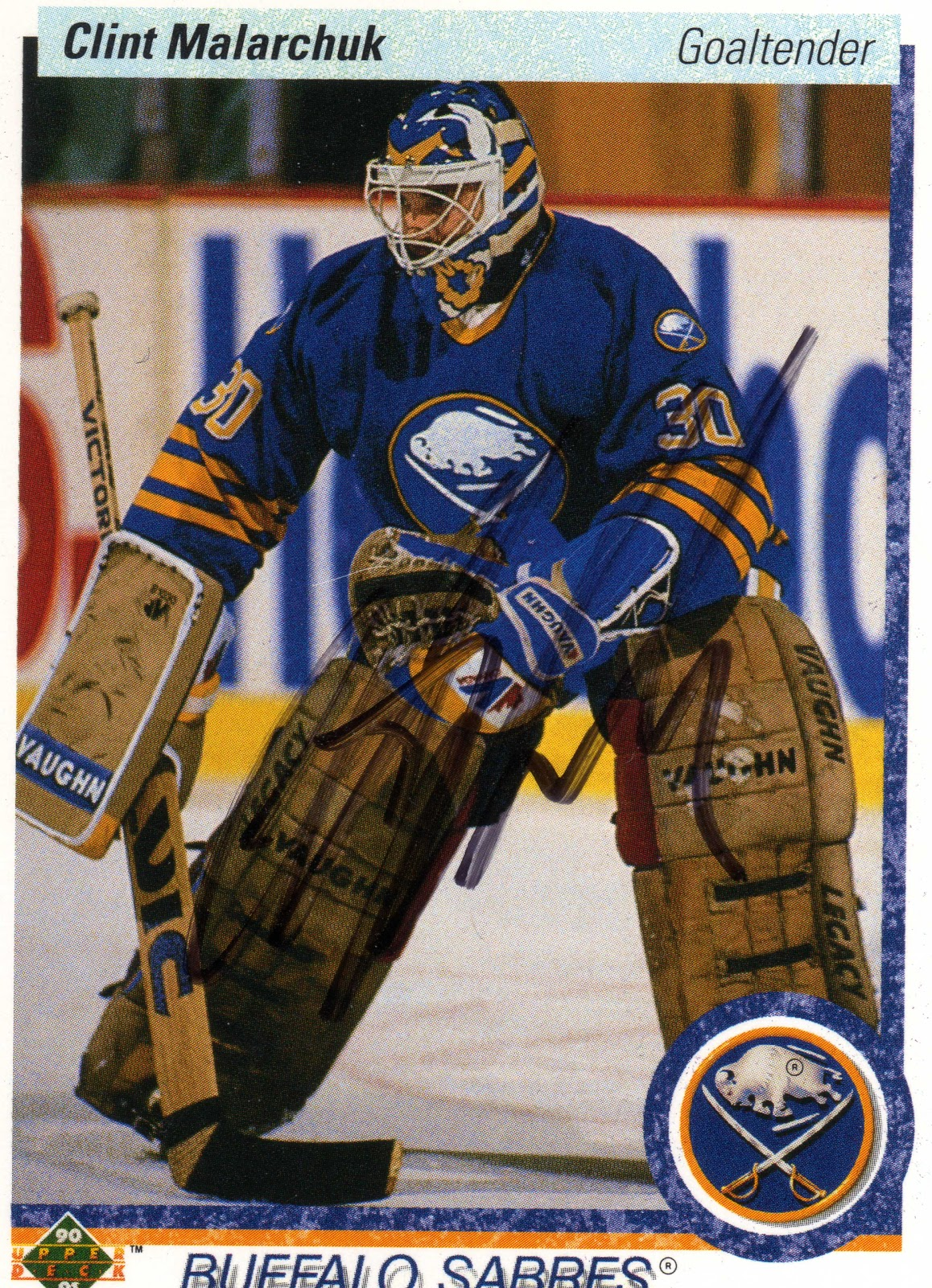 Michael S Hockey Ttm Clint Malarchuk