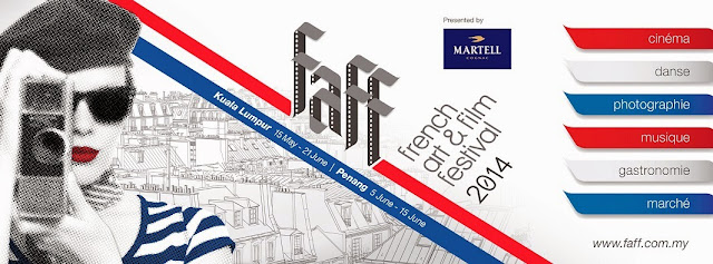 French Art & Film Festival FAFF 2014 Malaysia poster