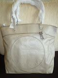 COACH LAURA LARGE LEATHER TOTE 18336