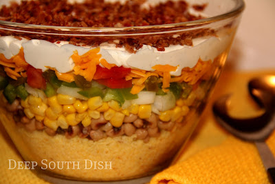 how to make deep dish layers