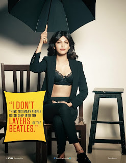 Shruthi Hassan Lovely Alluring Beauty pics from FHM Magazine Feb 2014