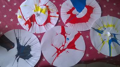 activité enfants peinture essoreuse salade Giotto bambins