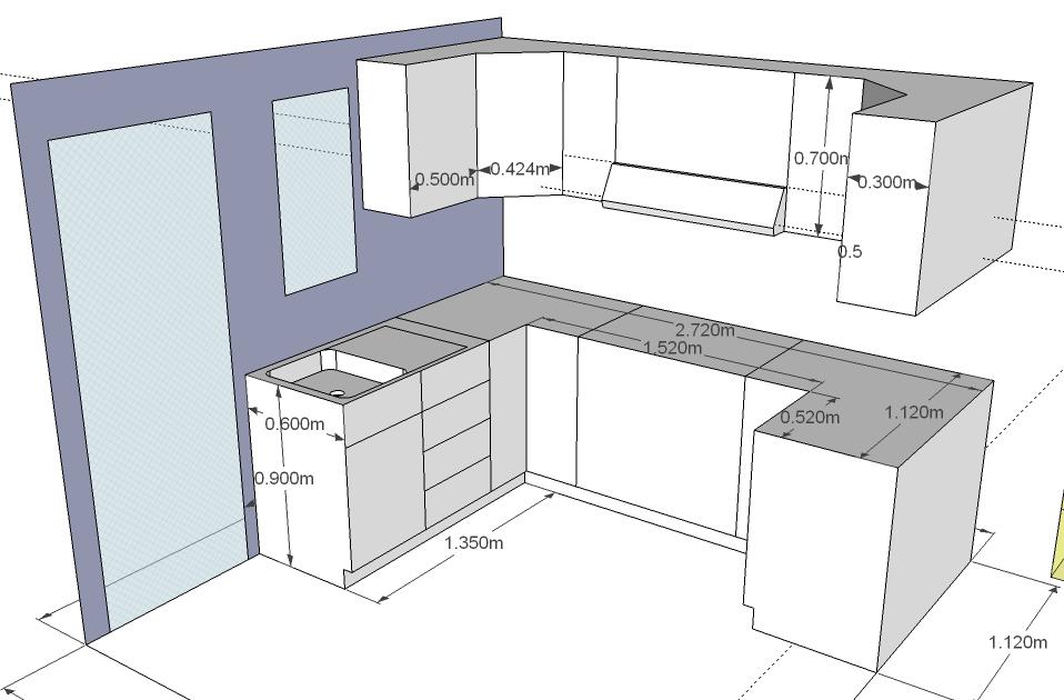 Medidas de instalacion de muebles de cocina - Instalacion de cocinas integrales ...