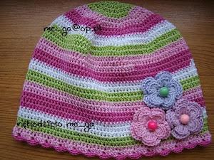 tęczowe czapki bawełna