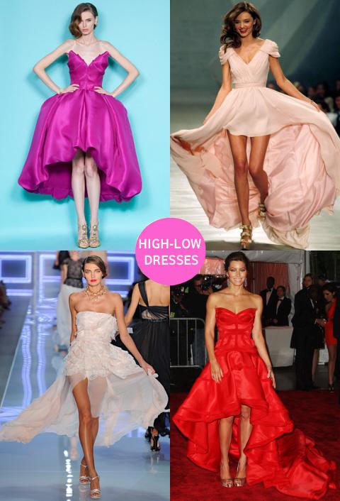 High low Dresses