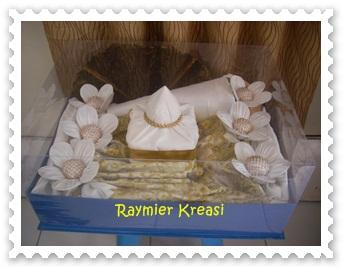 Raymier Kreasi Paket Seserahan Dalam Kotak Full Mika