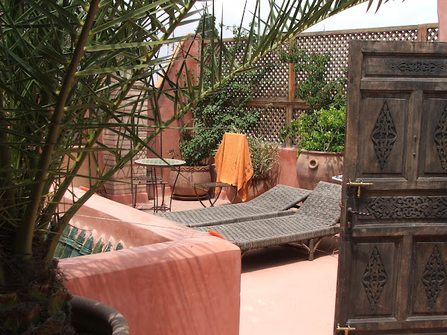 terrazza riad Marrakech