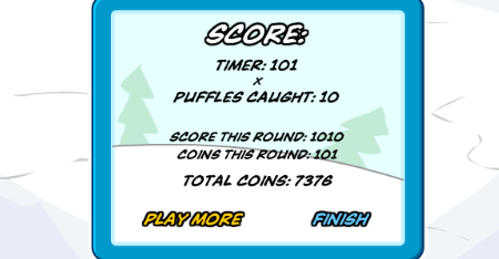 Club Penguin Puffle Roundup Coin Cheats