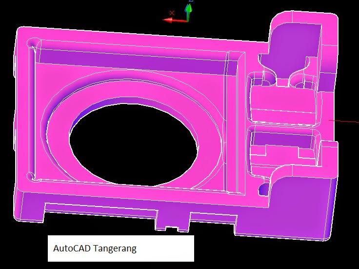 3 Jenis Gambar AutoCAD 3D.