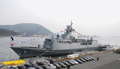 Incheon Class Frigate of South Korea