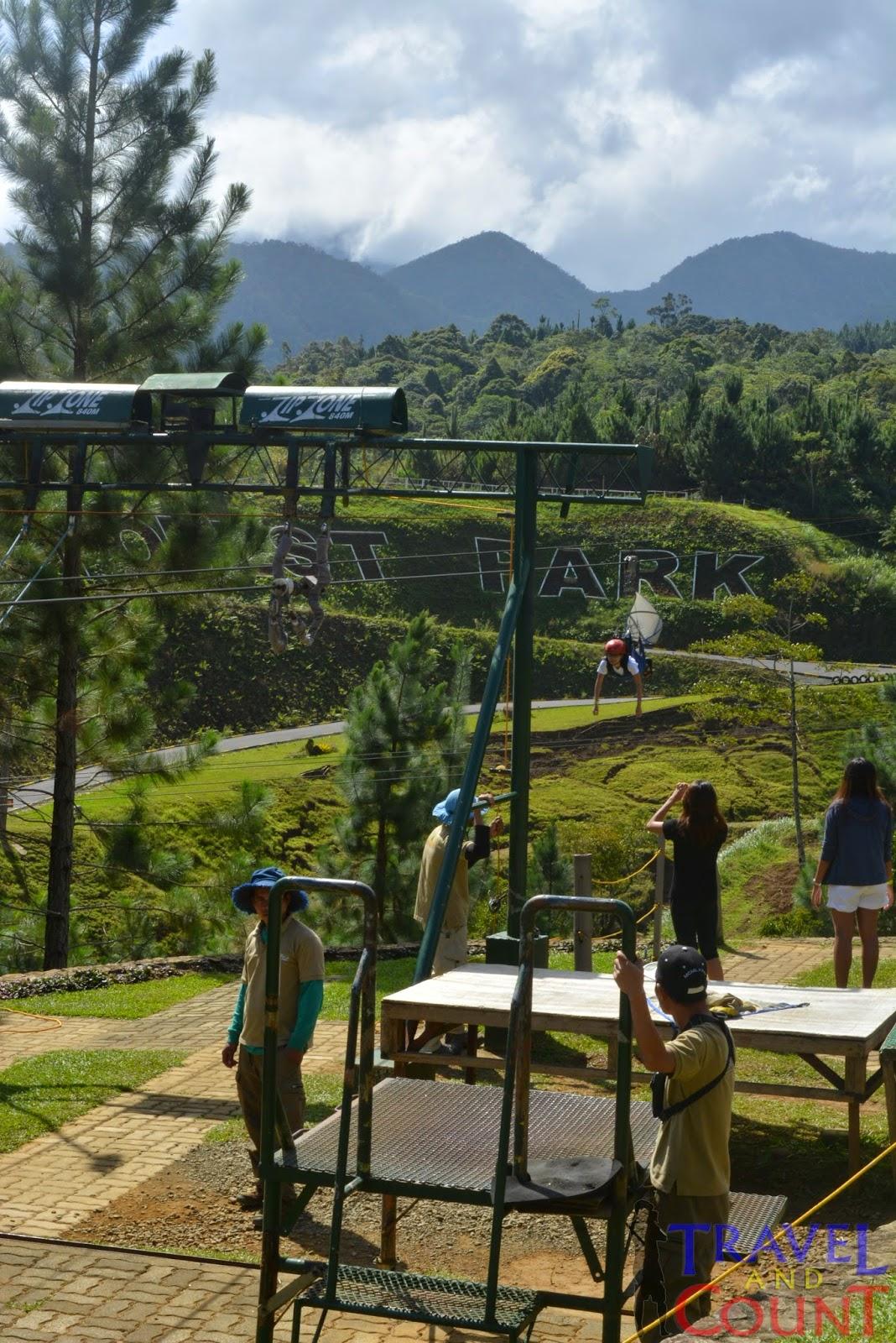Bukidnon Dual Zipline Dahilayan