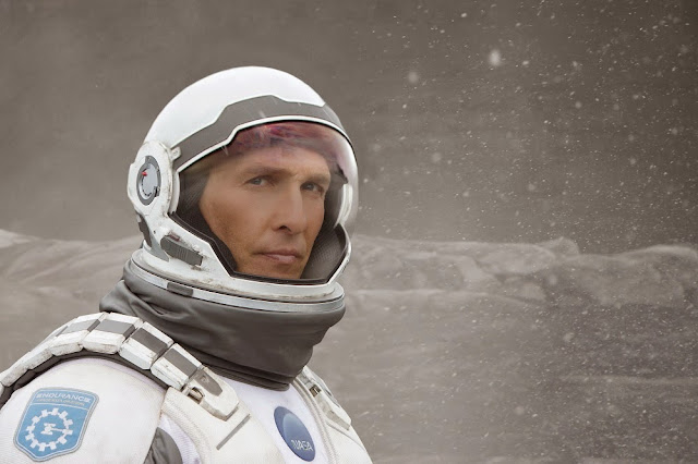 Interstellar Cooper Matthew McConaughey movie still