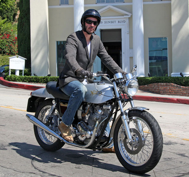 Stranger blog famous men on motorcycles Celebrity motors