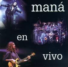 Portada del álbum Maná en vivo 1994