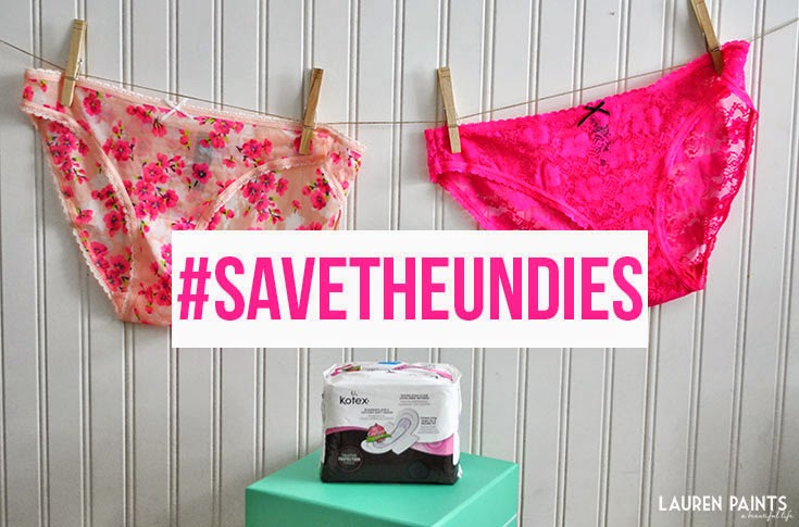 Essentials for THAT Time of The Month: #SaveTheUndies With This Gift Basket
