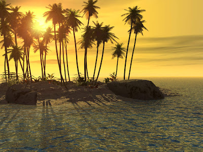3d Sunset wallpapers