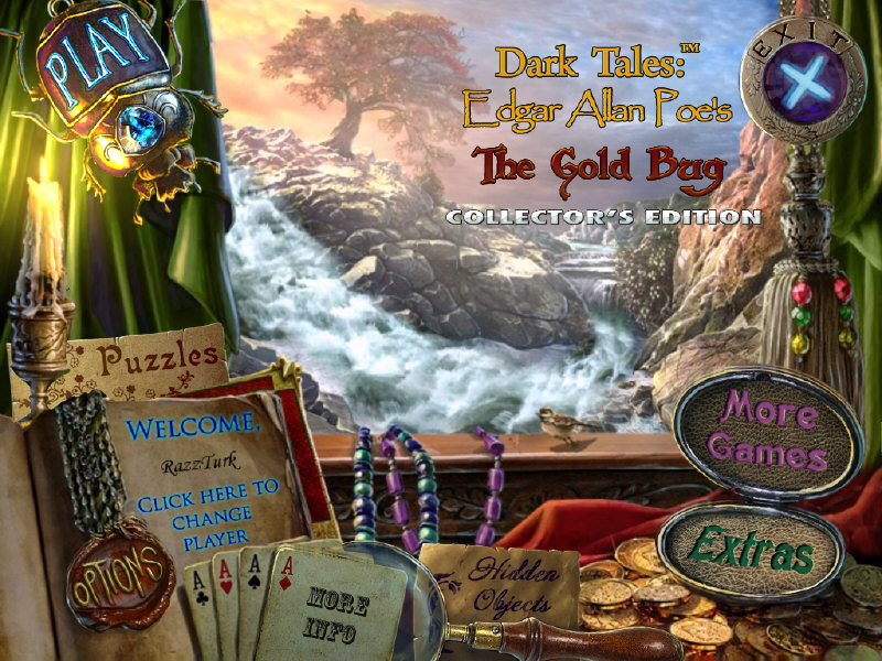 Dark Tales 4: Edgar Allan Poe's The Gold Bug Collector's Edition free download