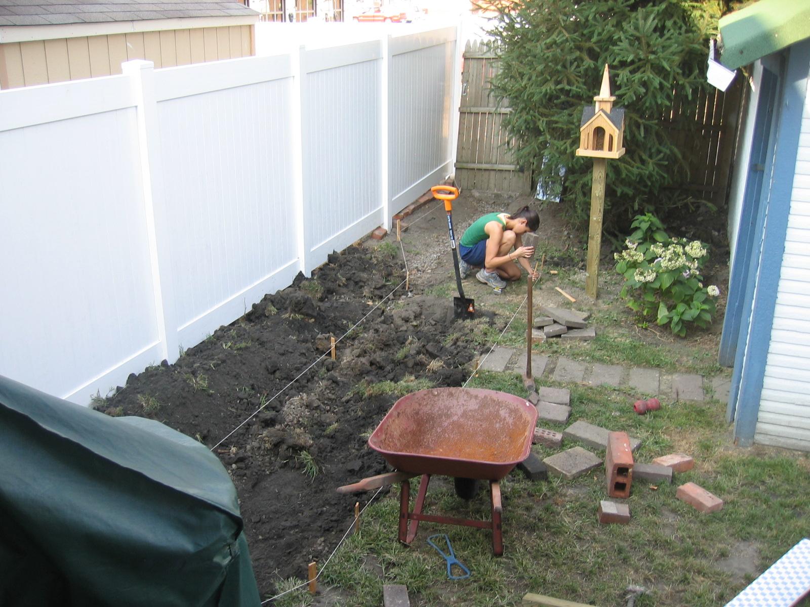 mel u0026 liza backyard redo