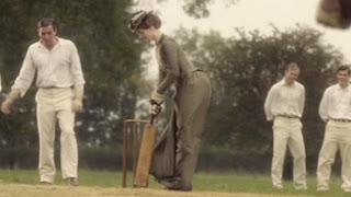 Margaret at bat