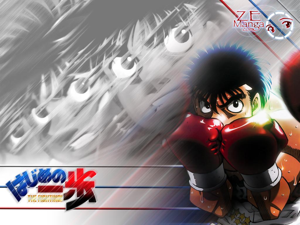 Uno de los mejores animes Espíritu de Lucha (Hajime no Ippo
