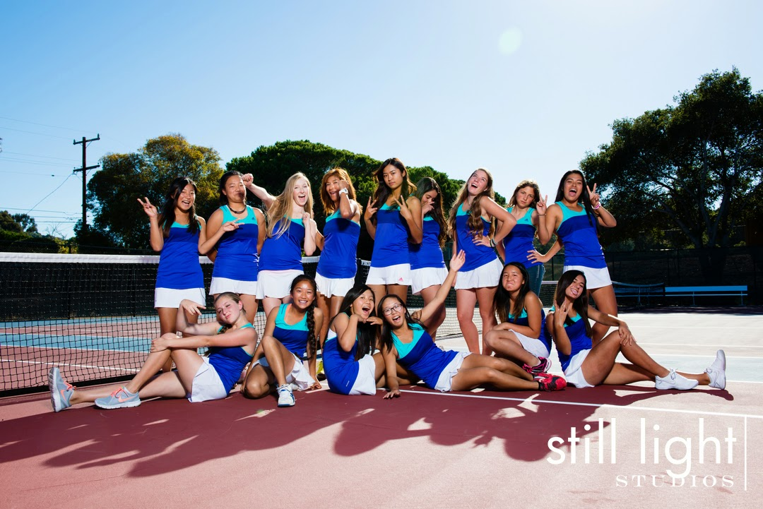 San Mateo Hillsdale High School Girls Tennis Photo by Still Light Studios, School Sport and Senior Photography in Bay Area