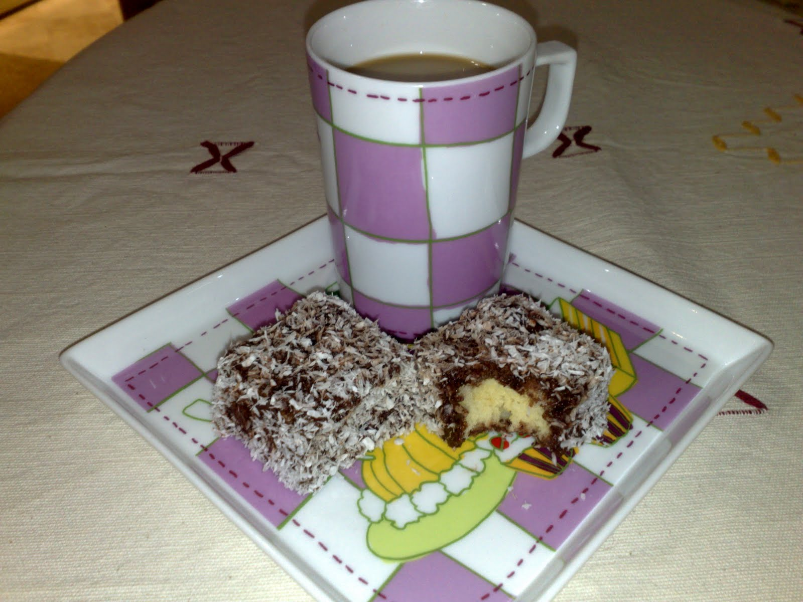 Kek lokumu tarifi(resimli anlatım)