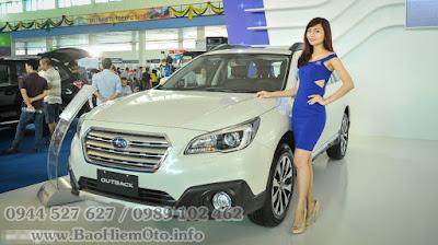 Subaru mang bộ đôi Legacy và Outback 2015 ra Hà Nội