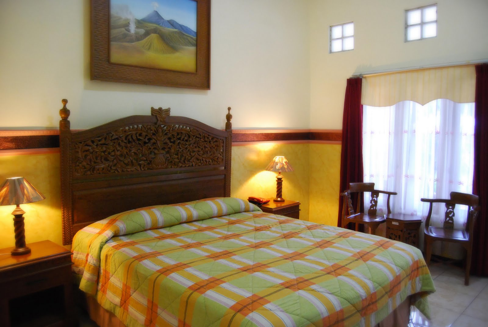 Hotel Bromo View. Courtesy : Hotel Bromo View