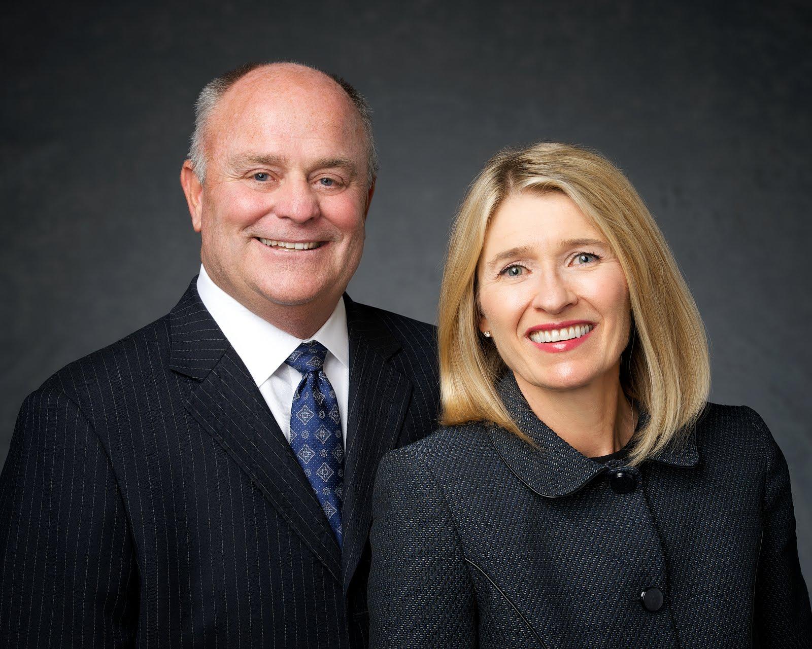 President and Sister Johnson