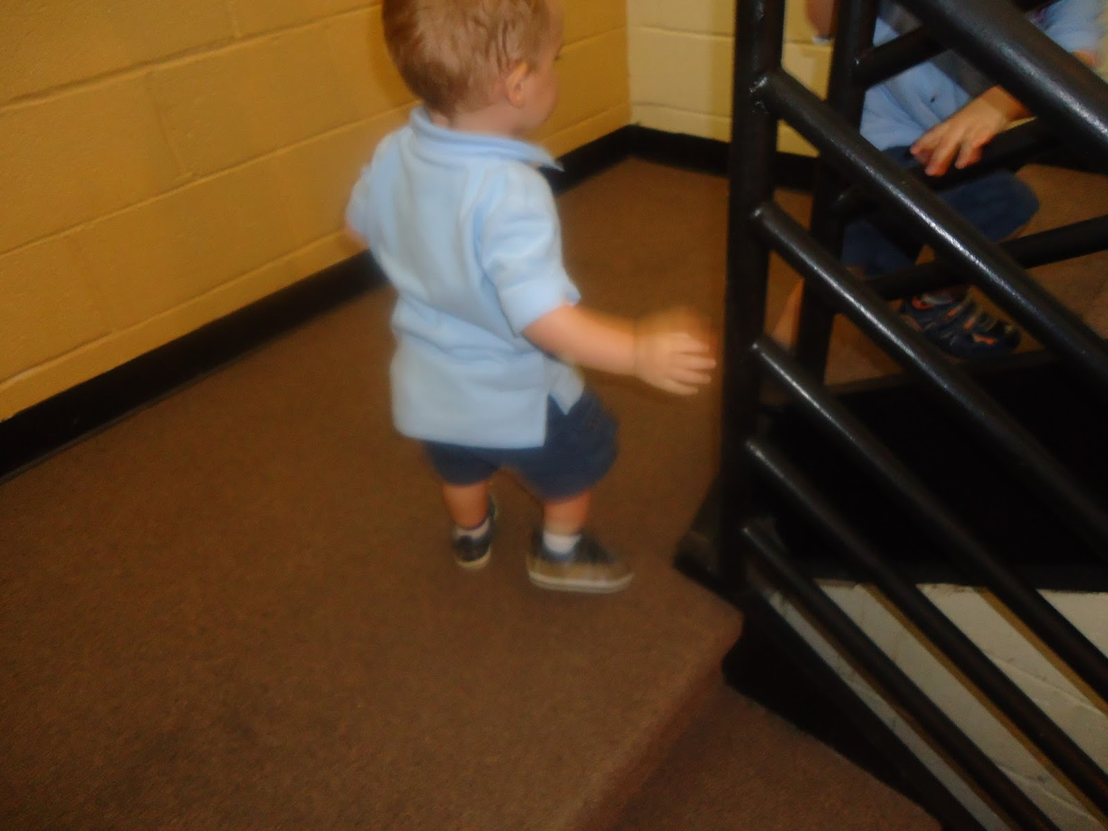 Gross Motor Activity: Walking Up The Stairs Alone U0026 Tunnel Play