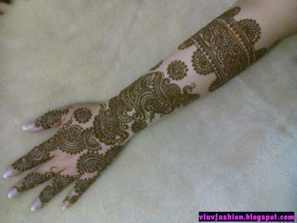 Mehndi Designs Zardosi : Latest mehendi designs v luv fash on