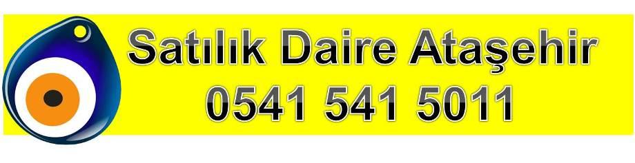 Satılık Daire Ataşehir 0541 541 5011