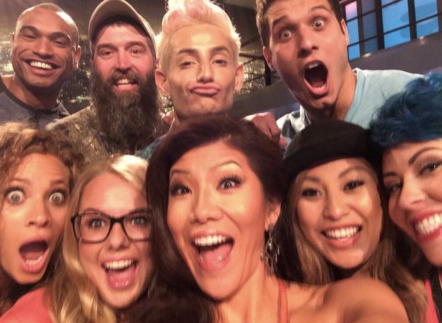 Big Brother 16 Julie Chen Selfie