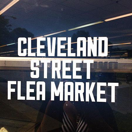 The Cleveland Street Flea Market, memphis
