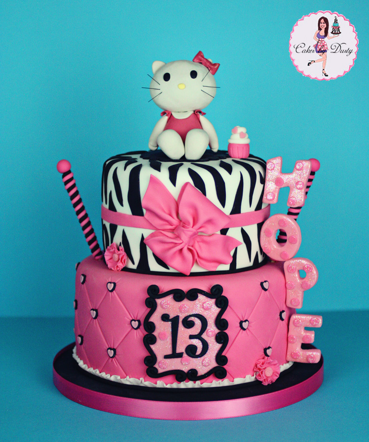 Images Of A Hello Kitty Cake : Cakes by Dusty: Hope s Hello Kitty Cake