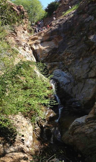 Etiwanda Falls - big falls, San Gabriel Mountains, San Bernardino National Forest