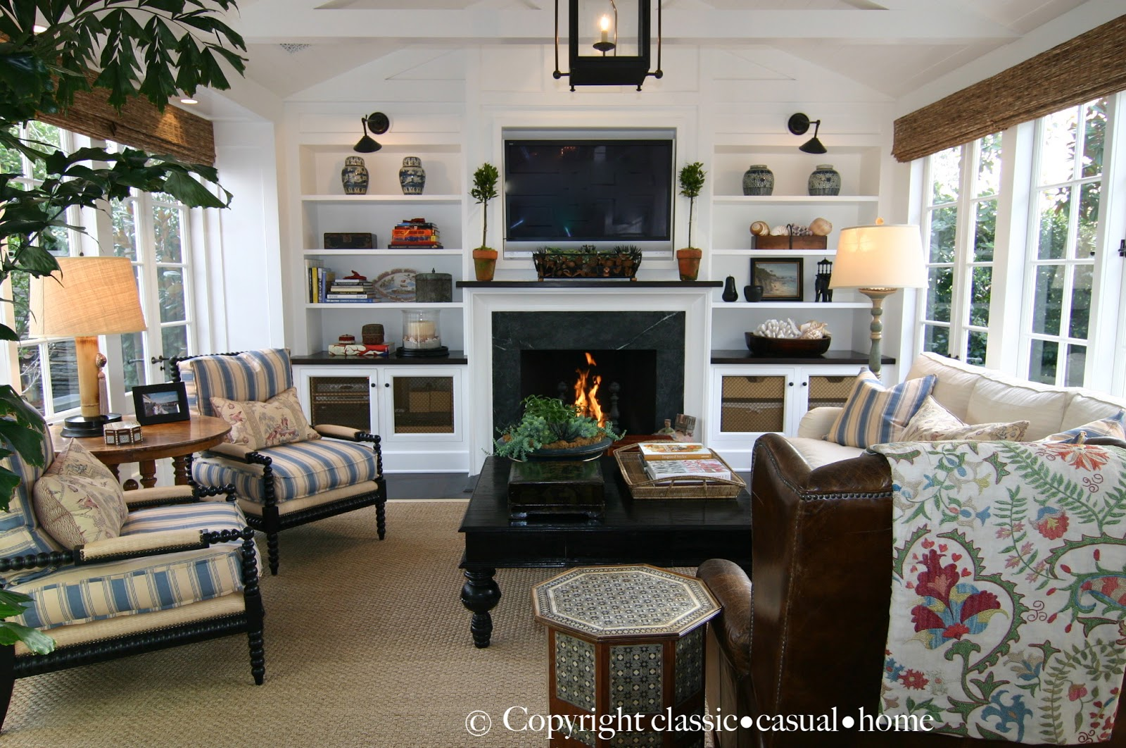 Gorgeous beach home tour you are invited classic casual home for Classic family home