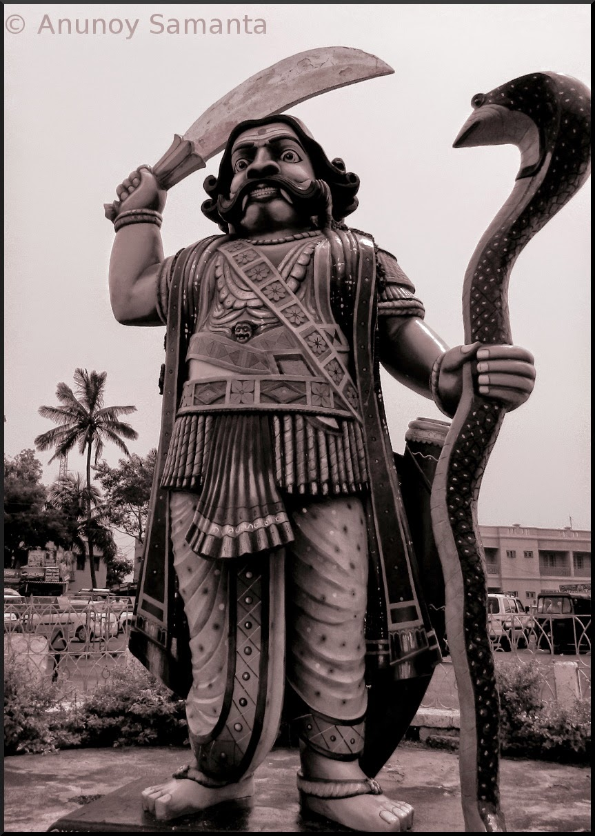 Mahishasura - the Hunky deity in Hinduism
