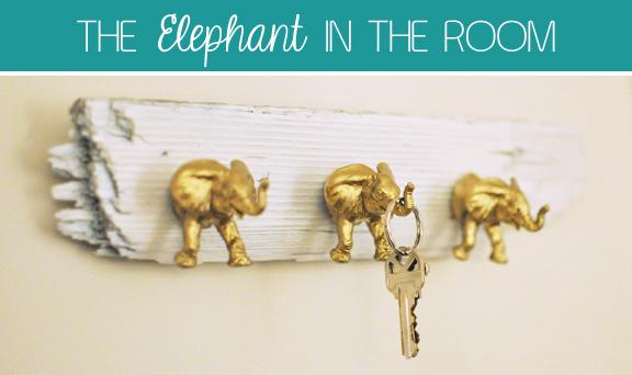 diy elephant hooks