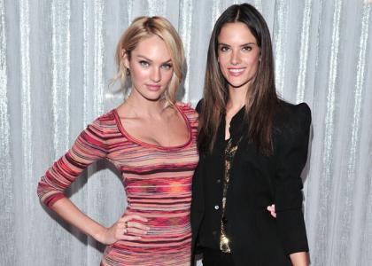 Candice Swanepoel & Alessandra Ambrosio