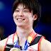 Kohei Uchimura é homenageado no Japão