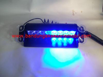 Lampu Stop Led 8 buah HS 51057C Biru